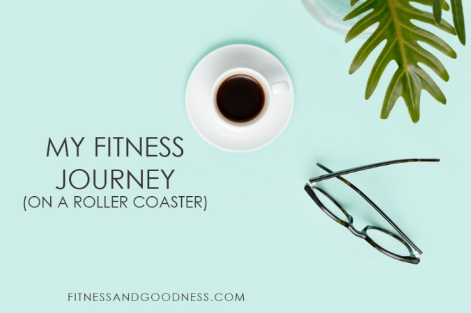 Fitness Journey on a Roller Coaster