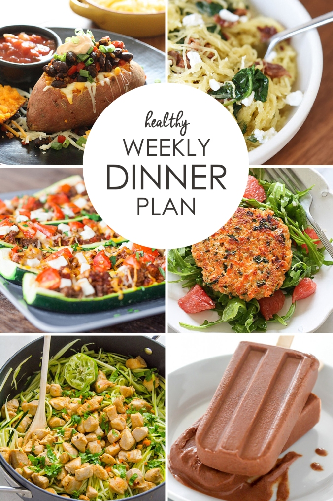 Healthy Weekly Meal Plan | Vol. 1